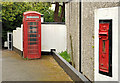 J3267 : Victorian wall box, Ballylesson, Belfast (2) by Albert Bridge