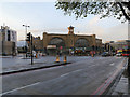 TQ3082 : Euston Road, King's Cross Station by David Dixon