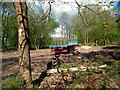 SU7589 : Timber Trailer, Stonor Estate by Des Blenkinsopp