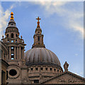 TQ3281 : St Paul's Cathedral Dome by David Dixon