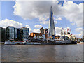 TQ3380 : HMS Belfast and The Shard by David Dixon