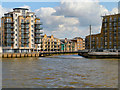 TQ3680 : Limehouse Creek by David Dixon
