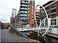 SP0687 : Islington Place Footbridge by Christine Johnstone