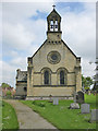 SE7274 : West facade with twin bellcote, St Michael and All Angels by Pauline Eccles