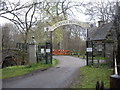 NJ5340 : Entrance arch to Castle Hotel, Huntly by Stanley Howe