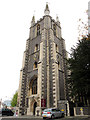 TQ3165 : Croydon Minster: tower by Stephen Craven
