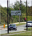 NZ3168 : Signpost by Christine Westerback