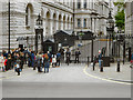 TQ3079 : Downing Street Security Gates by David Dixon