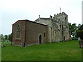 TL2340 : The Church of St Nicholas, Hinxworth by Alexander P Kapp