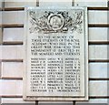 TQ2980 : War Memorial, Royal Academy, Burlington House, Piccadilly, London by PAUL FARMER