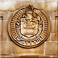 SD7628 : Accrington Magistrates' Court, Coat of Arms by David Dixon