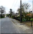 TM0735 : Quintons Road, East Bergholt by nick macneill