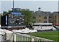 TL7006 : Chelmsford: County Ground - the scoreboard by John Sutton