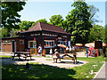 TQ3768 : Beckenham:  Kelsey Park Cafe by Dr Neil Clifton