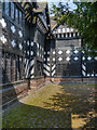 SJ4182 : Speke Hall Courtyard by David Dixon