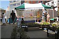 SJ9494 : Pound plant stall by Gerald England