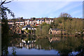 SK2956 : View across the Pond, Cromford by Des Blenkinsopp