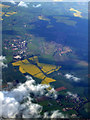 SP9339 : Cranfield Airport from the air by Thomas Nugent