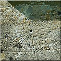 SU0268 : Mass dial, Church of St Mary, Calstone Wellington by Brian Robert Marshall
