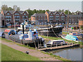 SJ4077 : Ellesmere Port, Canal Basin by David Dixon