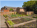 SJ4077 : The Kitchen Garden, Porter's Row by David Dixon