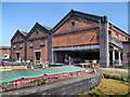 SJ4077 : Island Warehouse, National Waterways Museum by David Dixon