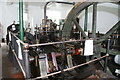 SO8802 : St Mary's Mill - steam engine by Chris Allen