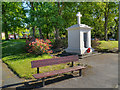 SJ6086 : Lower Walton War Memorial and Memorial Garden by David Dixon