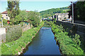 SE0126 : River Calder, Mytholmroyd by michael ely