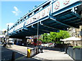 TQ2484 : Metropolitan Railway viaduct near Kilburn Tube station, London by John Grayson