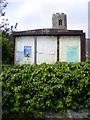 TM5188 : Gisleham Village Notice Board by Adrian Cable