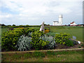 TF6741 : Garden on Green, Hunstanton, Norfolk by Christine Matthews