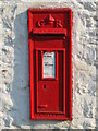 NY9442 : George V postbox near Rookhope House by Mike Quinn