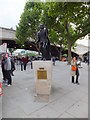 TQ3080 : Laurence Olivier statue on South Bank by PAUL FARMER