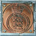 TQ3080 : Duchy Plaque by Glyn Baker