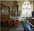 TQ4483 : St Margaret, The Broadway, Barking - North chapel by John Salmon