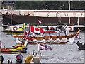 TQ2777 : Diamond Jubilee Pageant - Canadian canoe, gondola by David Hawgood