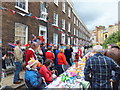TQ2978 : Bessborough Place Diamond Jubilee Street Party by PAUL FARMER