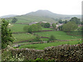 SK0582 : Chinley - Slack House and South Head from Gorsty Low by Dave Bevis