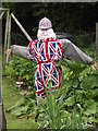 TQ0747 : Patriotic Scarecrow by Colin Smith