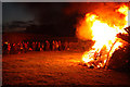 SK8770 : Jubilee bonfire beacon by Richard Croft