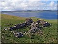 HY3830 : Ruins of Hallgate farmstead, Rousay, Orkney by Claire Pegrum