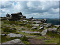 SK2580 : Walker's lunch time on Over Owler Tor by Peter Barr