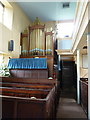 SK0582 : Chinley Independent Chapel, Organ by Alexander P Kapp