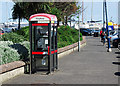 J5082 : Telephone boxes, Bangor by Rossographer