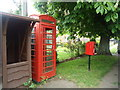 TM2782 : Telephone and post box, Mendham by Stacey Harris