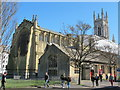 TQ3104 : St. Peter's Church, York Place / Richmond Place, BN1 by Mike Quinn