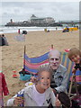 SZ0990 : Bournemouth: Jubilee partygoers on the beach by Chris Downer