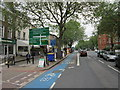 TQ3177 : Clapham Road, Kennington by Ian S