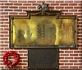 TQ3988 : St Andrew, St Andrew's Road, Leytonstone - War memorials by John Salmon